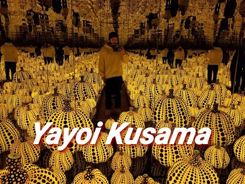 YAYOI KUSAMA AND COMIC BOOKS! | SPIKE VLOGS