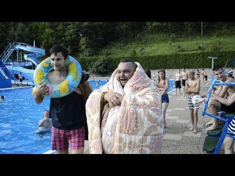 Bosanski KRKANI na bazenu