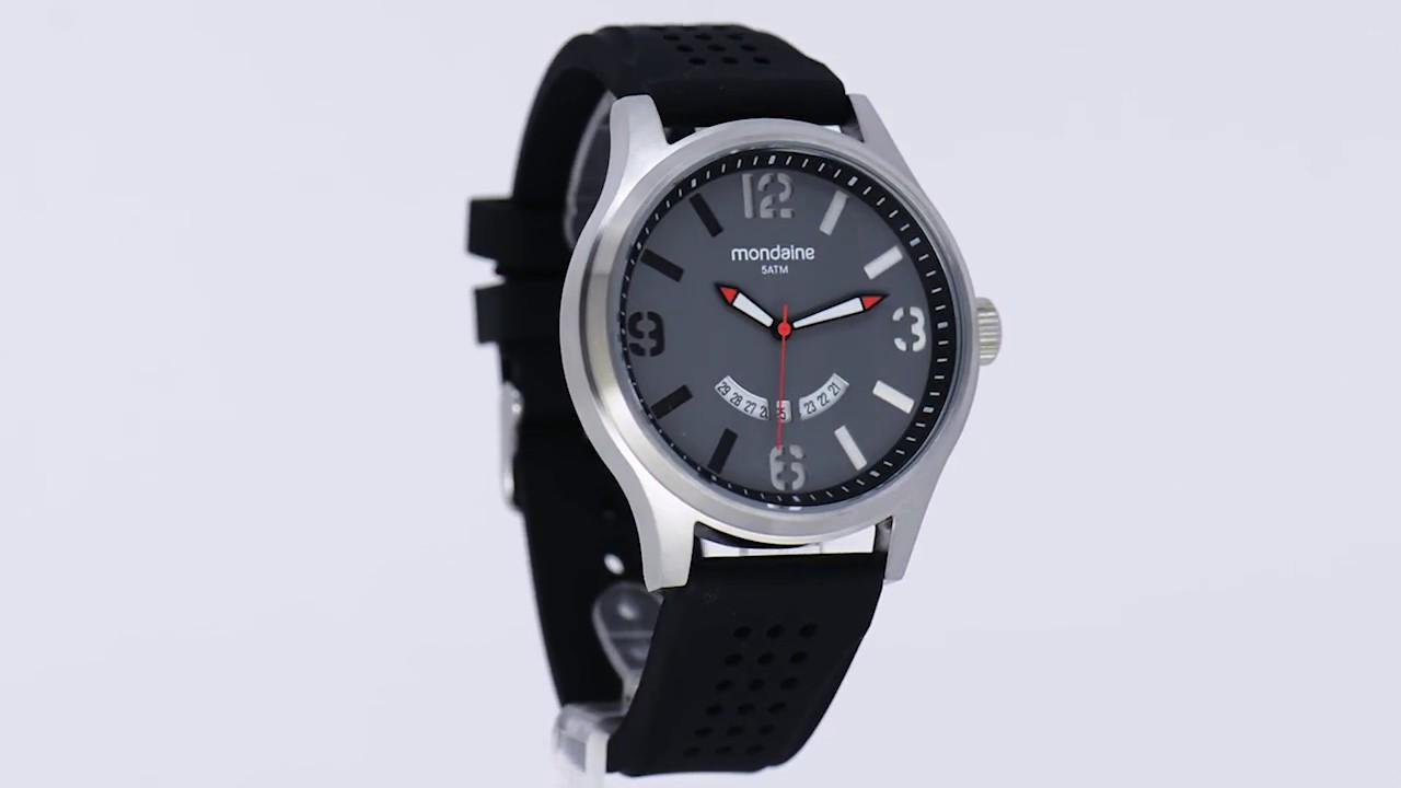 8a9138c0d19 Relógio Mondaine Masculino 94935G0MVNU1 - Eclock - YouTube