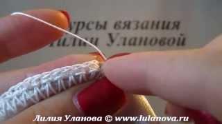 Резинка Для Волос Белоснежка - вязание крючком по ткани