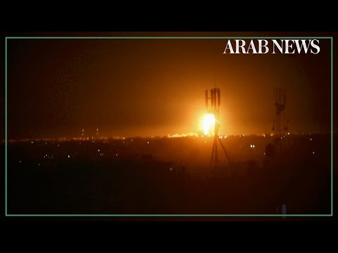 Israeli Jets Strike Hamas Targets In Gaza