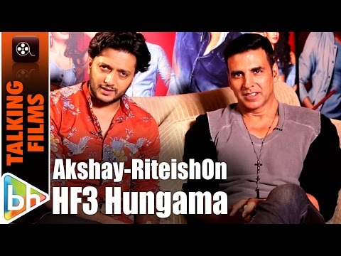 Housefull 3 Sets | Akshay Kumar | Riteish Deshmukh's Behind The Scenes EXCLUSIVE On HUNGAMA