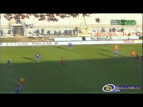 Serie A 2001-2002, day 22 Lecce - Verona 1-1 (Giacomazzi, Frick)