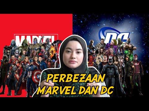 Perbezaan Marvel dan DC