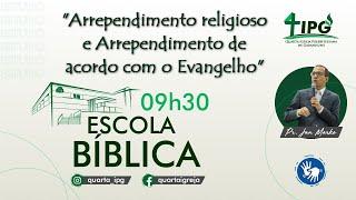 Arrependimento religioso e Arrependimento de acordo com o Evangelho