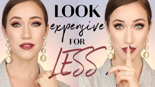 HOW TO MAKE AFFORDABLE MAKEUP LOOK EXPENSIVE | ALLIE GLINES
