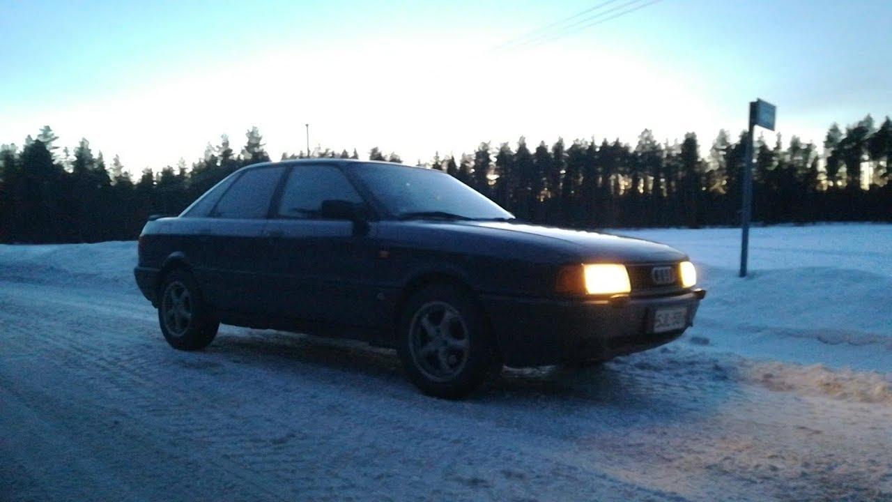 Audi 80 B3 1989 1.8E - YouTube
