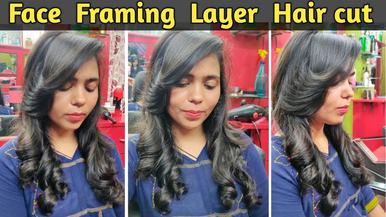 How to cut Perfect Face Framing Layer for Long Hair 10 in Hindi