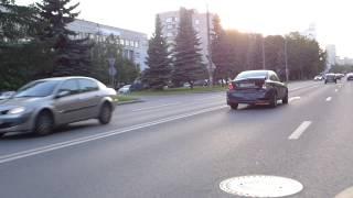 Столкновение двух автомобилей на проспекте Мориса Тореза(, 2014-06-12T05:56:16.000Z)