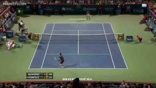 Djokovic, Tsonga Win In Montreal Quarter-final Night Highlights