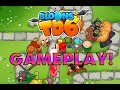 Bloons Tower Defense 6 - FIRST REAL GAMEPLAY! FULL MAP ON HARD!! ALL TOWERS SHOWN!