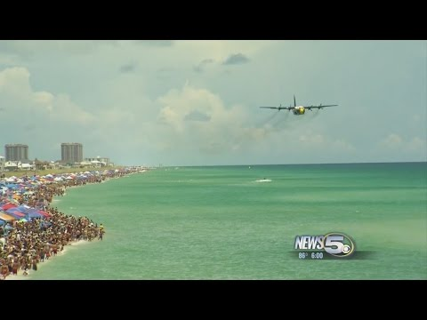 Blue Angels Soar Over Pensacola Beach