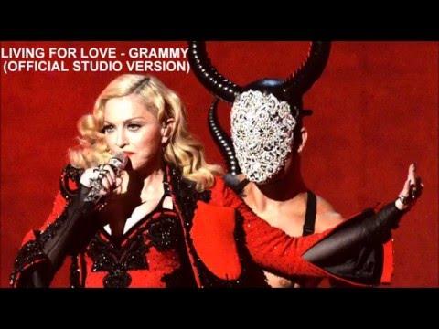 Living For Love - Madonna (Grammy Awards Official Studio Version)