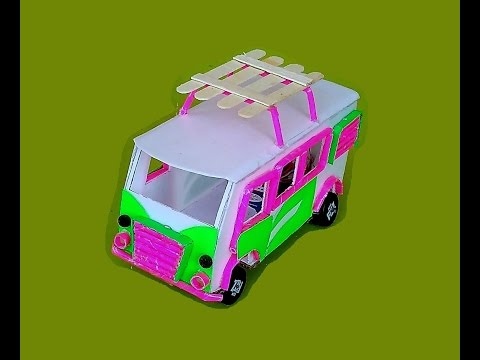 Wow! Amazing Bus DIY | 9v Battery Bus