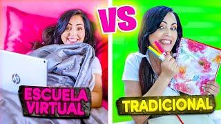ESCUELA TRADICIONAL vs ESCUELA NUEVA 😅 CUAL PREFIERES? 😬 SandraCiresArt 🙄