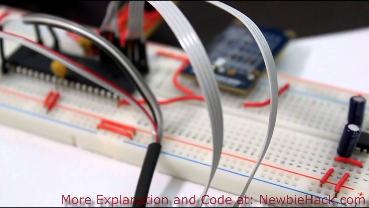 Arduino for production avr atmega measuring the