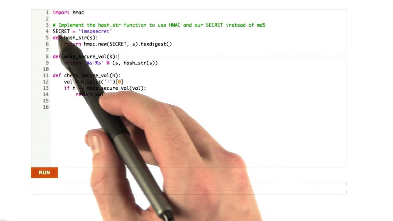 HMAC - Web Development