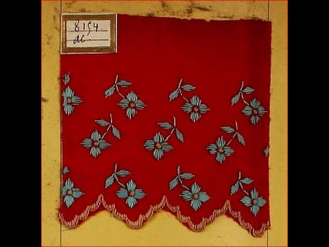 Show-Me: French Hand Embroidery Samples From 1850