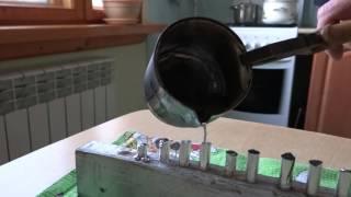 простой способ изготовления грузов для отводных поводков