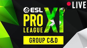 LIVE: Evil Geniuses vs. FURIA Esports - ESL Pro League Season 11 - Group C