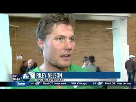 Riley Nelson on 2012 BYU Spring Football