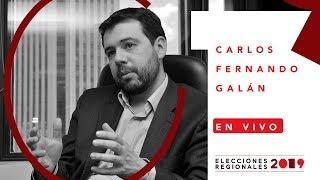 Carlos Fernando Galán presenta sus propuestas a la Alcadía de Bogotá   El Espectador