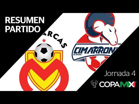 Resumen y Goles | Morelia vs Cimarrones de Sonora | Copa MX - Jornada 4