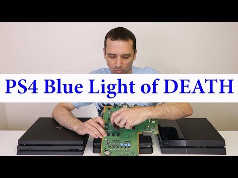 PS4 Blue Light Of Death - BLOD Guide