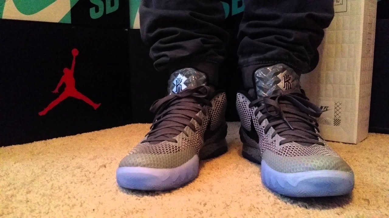 286ff7449b33 Kyrie 1 all star on foot!! - YouTube
