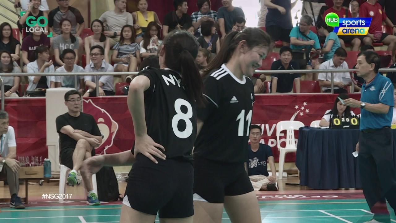 c Div National Girls Volleyball_Final set2 Nanyang Girls