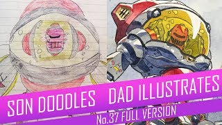 DRAWING with my kids - CRIMSON SPACE SUIT [FULL VERSION] No.37