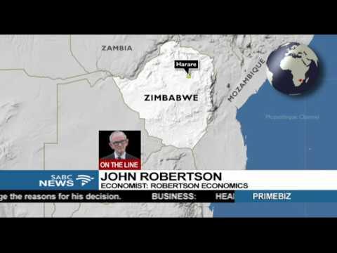 Impact of Zimbabwe crisis on the economy: John Roberson