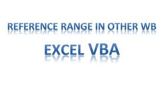 Excel VBA Tips n Tricks 41 Referencing Named Range from Other Workbook Q n A
