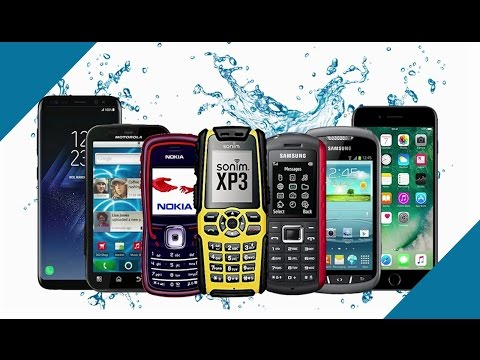 Evolution of Waterproof Phones