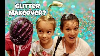 Mother Daughter SPA DAY & GLITTER MAKEOVER   BOYS crash the party!