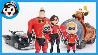 [A dda dda Toys] Disney the Incredibles 2! Underminer,(Mr.Incredible.Dash,Jack-Jack ,Elastigirl)