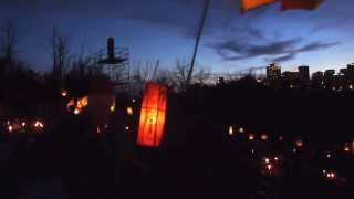 #EFMF Lantern Parade during @LPRock #magicmoments in #yeg