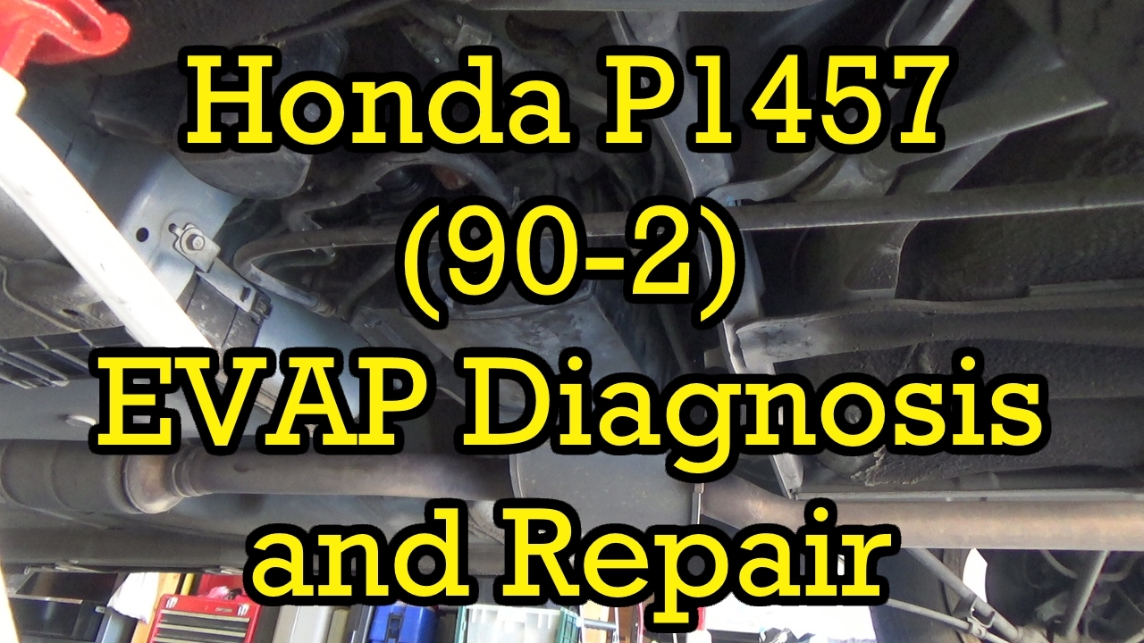 Honda    Accord P1457  902  EVAP Canister Vent Solenoid DiagnosisRepair    1999    V6  19982002