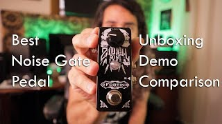 Best Noise Gate: Fortin Mini ZUUL - Unboxing, Demo vs. TC Electronic Sentry