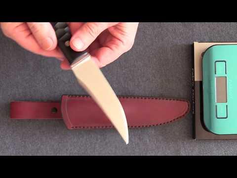 Cмилодон-небольшой обзор нового ножа от мастера Геннадия Дедюхина.