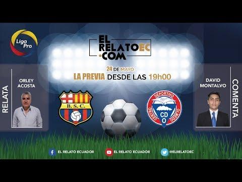 EN VIVO   FORMATO RADIO: Barcelona SC vs. Olmedo