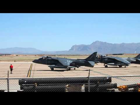 Harriers At Williams Gateway Airport  9-25-13