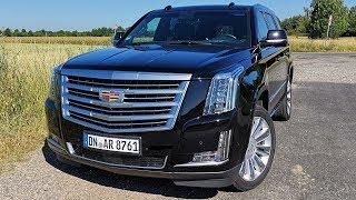 2019 Cadillac Escalade 6.2 V8 Platinium (426 HP) TEST DRIVE