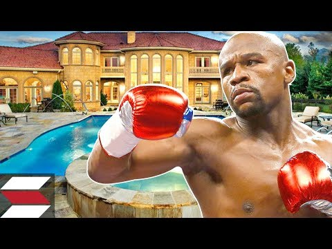 The Biggest Mansions Of Rich Athletes (Floyd Mayweather)