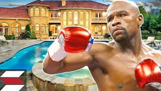 the biggest mansions of rich athletes floyd mayweather
