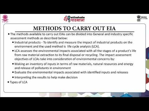Introduction to Environmental Impact Assessment (EIA)