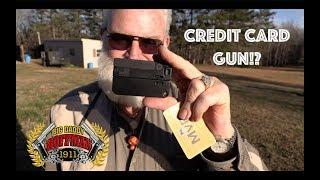 LifeCard 22 WMR Credit Card Pistol