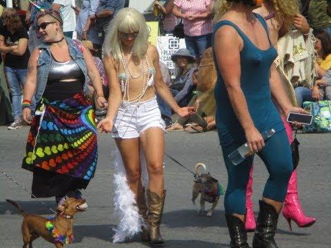 Pride Parade On Salt Spring Island