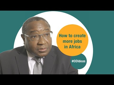 How to create more jobs in Africa: #ODIdeas with David Luke
