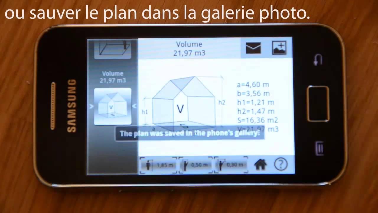 m3 - mesure de surface et de volume - (fr) - youtube - Comment Calculer La Surface D Une Chambre